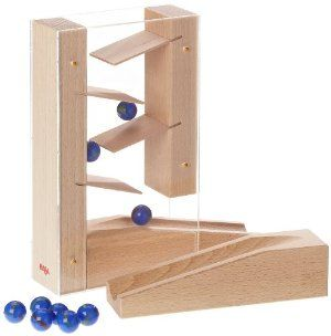 Haba Marble Runs Cascade By Haba 37 99 Width 5 16 In Height 3 78 In Length 10 4 In Age 3 5 Years Weight 1 Marble Run Marble Ball Marble Games