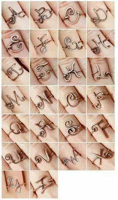 Wire rings by estelle