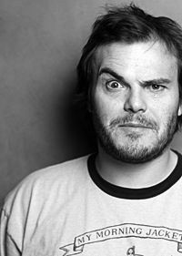 Jack Black, because he can sing and makes me laugh!