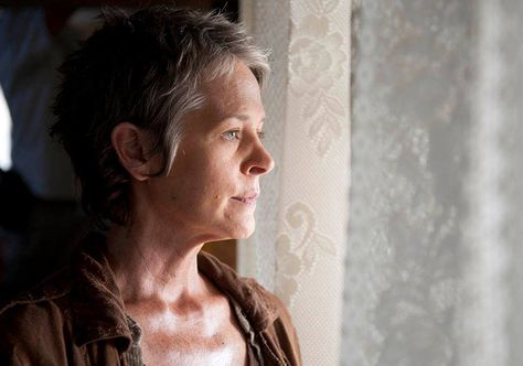 Give this woman an Emmy NOW! Melissa McBride. The Walking Dead