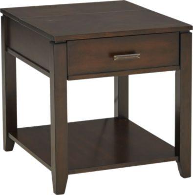 Prime Belman Brown End Table Home Living Room End Tables Spiritservingveterans Wood Chair Design Ideas Spiritservingveteransorg