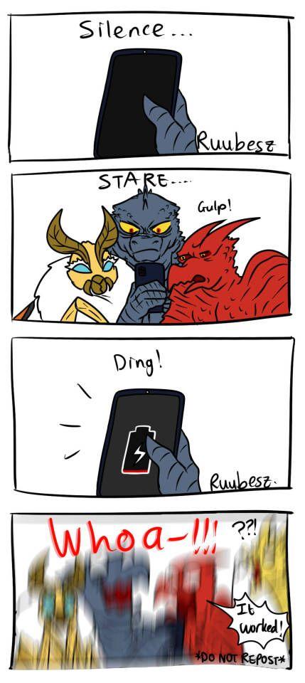 Procrastination Now Introducing King Ghidorah X Charger A Super Godzilla Funny Godzilla Comics Godzilla