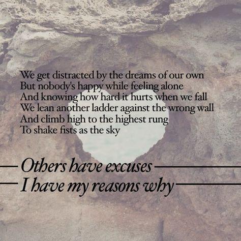 Reasons Why - Nickel Creek lyrics