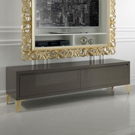 Designer High End Entertainment Media Unit Dekor Pinterest