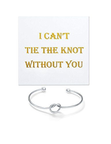 I Can't Tie The Knot Without You Bridesmaid Gift Cards Bridesmaid ...