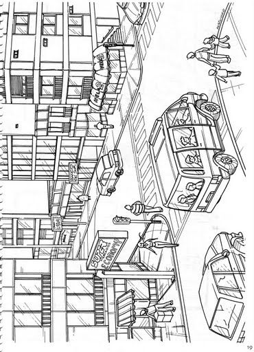 Paisaje Urbano Y Rural Para Colorear Imagui Design Inspiration Design House Design