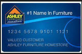 ashley synchrony credit card login