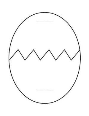 Free Printable Egg Pattern Easter Egg Crafts Easter Templates Easter Craft Decorations