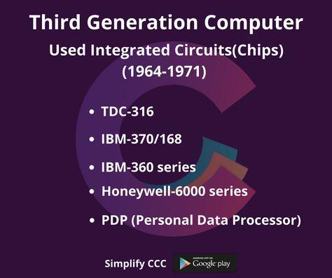 third generation integrated circuits