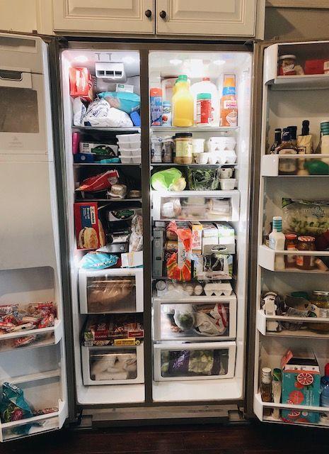 How To Create The Perfectly Organized Fridge And Freezer Fridge