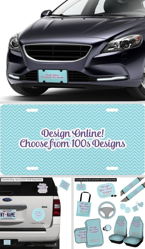 Customize Your Own Car Online >> Design Your Own Personalized Front License Plate Ride In