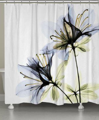 Laural Home Azalea Shower Curtain Reviews Shower Curtains
