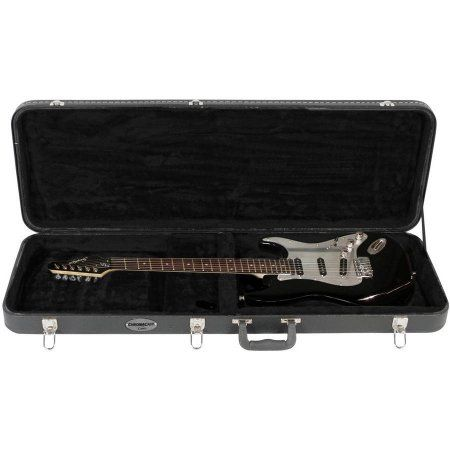 Chromacast Electric Guitar Hard Case Walmart Com Electric Guitar Case Guitar Case Cool Electric Guitars