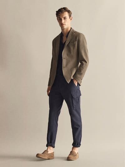 Nice Style By Massimo Dutti Mens Smart Casual Outfits Minimalist Fashion Men Men Fashion Casual Outfits