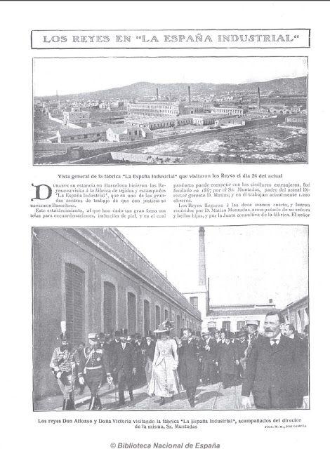 Patrimonio Industrial Arquitectónico Nostalgia Industrial Visita De Los Reyes A La Esp Nostalgia Biblioteca Nacional De España Industrial