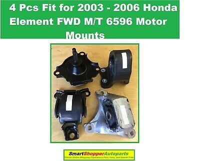 Hydraulic Motor Mounts /& Trans Mount 4PCS Set for 2010-2013 Acura MDX 3.7L