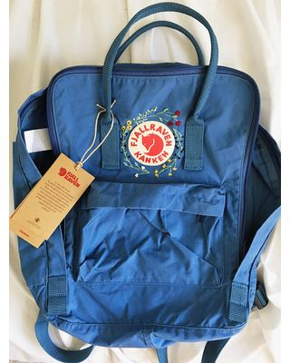 We've got a great deal on customizable wildflower hand embroidered fjallraven kanken backpack from Etsy - thingsNstring?
