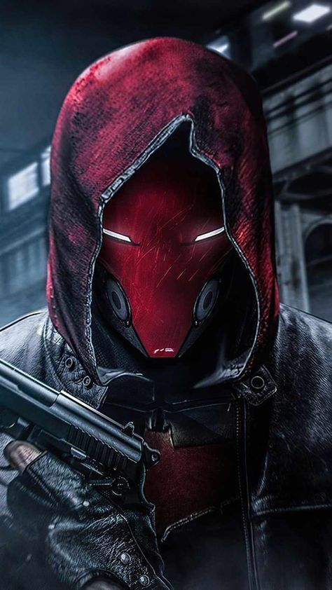 Red Hood With Gun IPhone Wallpaper - IPhone Wallpapers