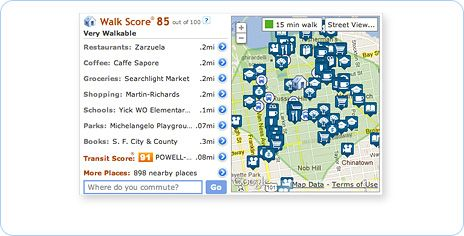 Get Your Walk Score - Find Walkable Apartments and Rentals