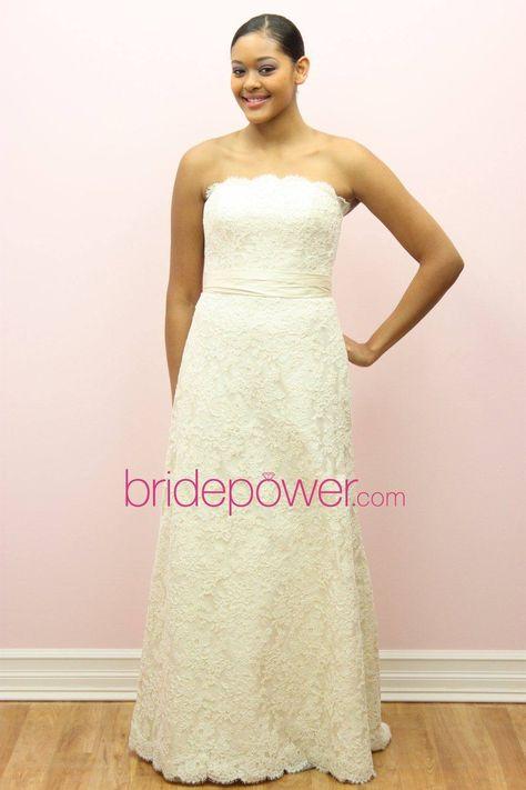 40a9ab39d4b Liv Harris Aline - VOWS Bridal Outlet - I love wedding dress shows! LOL!