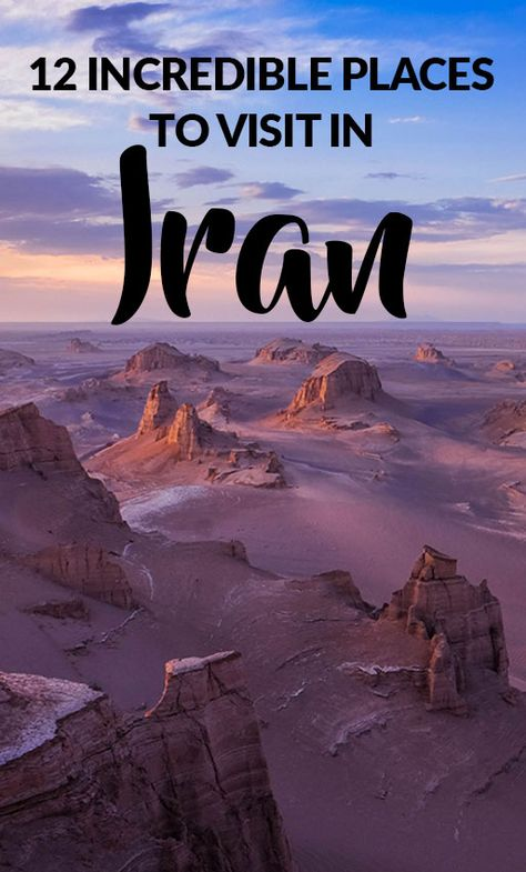 12 Incredible Offbeat #Places to Visit in #Iran #travel #iran