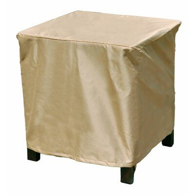 Freeport Park Aaden Square Outdoor Side Table Ottoman Cover In 2020 Outdoor Side Table