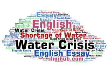 Essay On Water Crisi Or Shortage In Pakistan With Outline Crisis And Energy Pdf Cs
