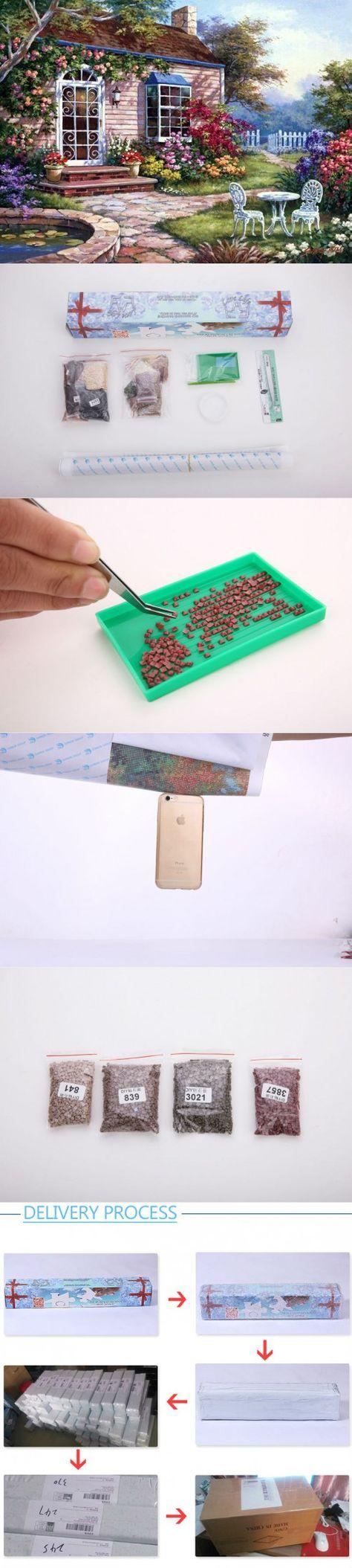 5D DIY diamond painting round  square Bonta embroidery rhinestone cross stitch painting diamond home decoration