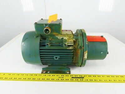Details About Brook Crompton 2424209 02m 5hp Electric Motor 230 460v 3ph 1710rpm L184tc Frame In 2020 Electric Motor Motor Electricity