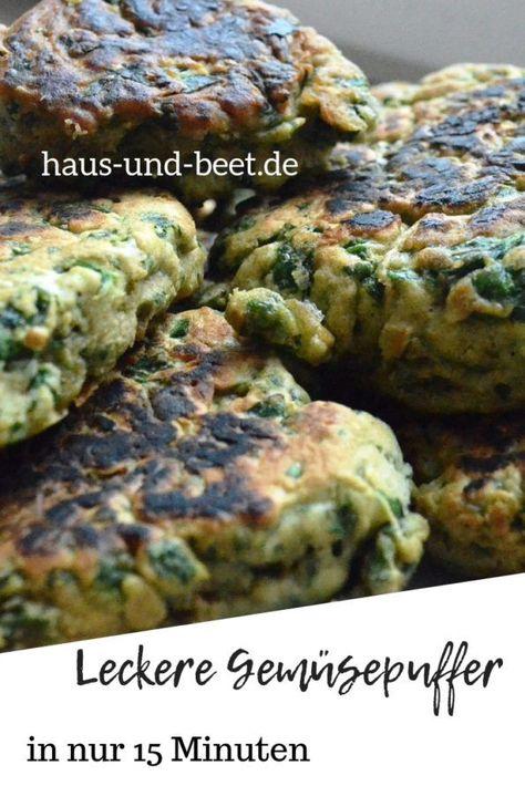 Photo of Immer leckere Gemüsepfannkuchen – Haus und Beet