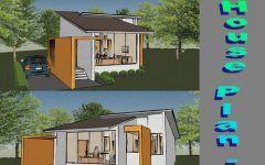 Plan Petite Maison Moderne Gratuit Avec Maison D Une Chambre Et Prix Construction Maison Contemporaine Lyon