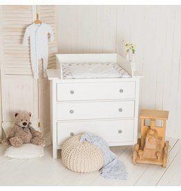 Puckdaddy Baby Wickelaufsatz 15cm hoch für IKEA Hemnes// Songesand Kommode