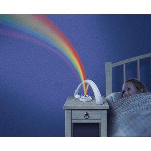 きれいな虹を映し出そう壁や天井に虹を映しだす レインボー