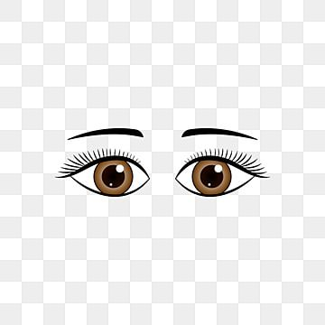 Vector Cartoon Anime Simple Brown Eyes Eyebrow Material Eyes Clipart Eye Clip Art Facial Elements Eye Png And Vector With Transparent Background For Free Dow In 2021 Eyes Clipart Clip Art