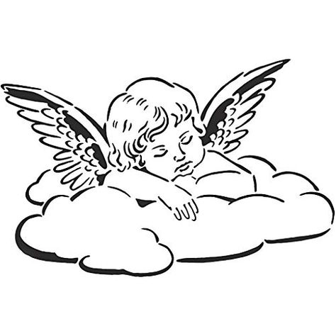 Simple Angel Tattoos, Dainty Tattoos, Mini Tattoos, Small Tattoos, Angel Tattoo Designs, Dragon Tattoo Designs, Tattoo Drawings, Art Drawings, Tattoo Sketches