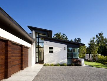 modern white house and brown wood siding - Recherche Google | exteriors |  Pinterest | White houses, Woods and Modern