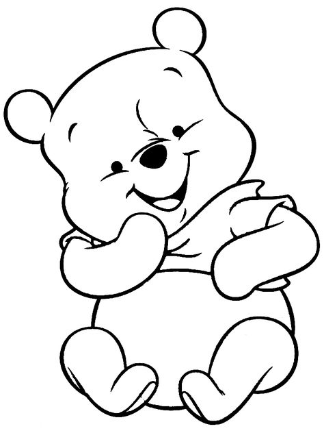 winnie the pooh coloring pages coloringsuite | Disney ...