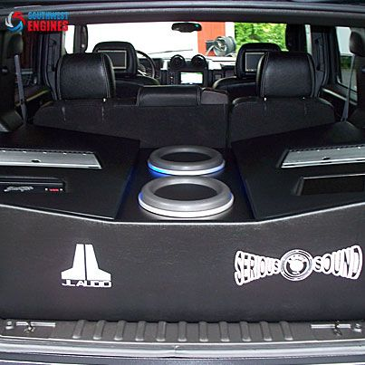 Southwestengines Serious About Sound Custom Car Audio Installation