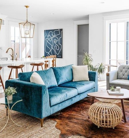 Weave Chair Blue Sofas Living Room Teal Sofa Living Room Modern Living Room Blue