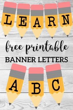 Welcome Back School Banner {Pencil Letters} – Paper Trail Design Welcome back to school ABC pencil banner letters. Free printable alphabet banner to decorate a classroom bulletin board, door, or family party. Writing Bulletin Boards, Kindergarten Bulletin Boards, Welcome To Kindergarten, Back To School Bulletin Boards, Classroom Bulletin Boards, Classroom Door, French Classroom, English Bulletin Boards, September Bulletin Boards
