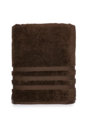 Biltmore Century Bath Towel Collection Brown Hand Towels Brown
