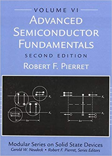Advanced Semiconductor Fundamentals By Robert F Pierret Solution Manual