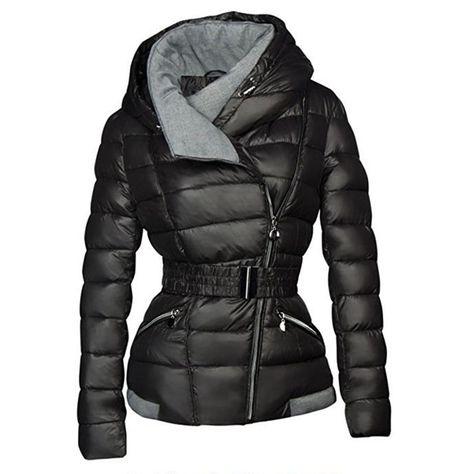 07ca3672440 Short Jacket Coat w/ Belt Price: 44.99 & FREE Shipping #fashion