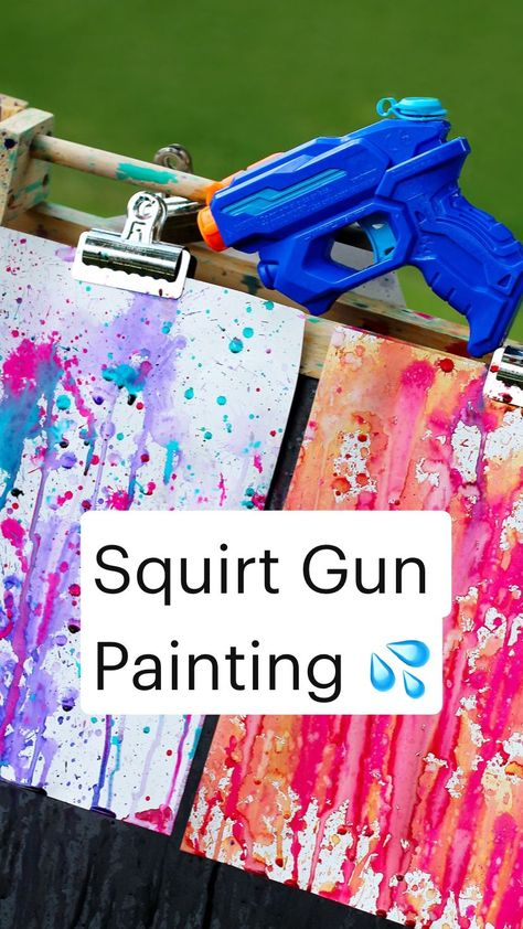 Best Squirt Gun Painting 💦
