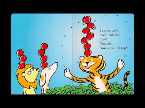 """The book """"Ten Apples Up on Top"""" is sung to a popular tune - super cute and catchy music!"""