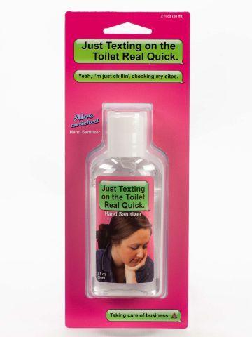 Blue Q Hand Sanitizer Gag Gifts Funny Gag Gifts For Men Hand