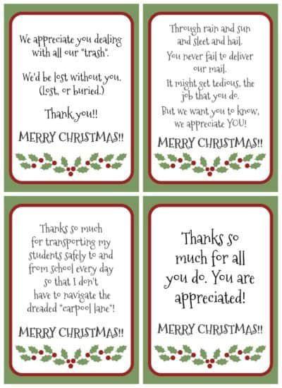 foto de Free Printable Gratitude Christmas Gift Tags – Light the World ...