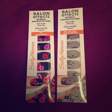 Sally Hansen Salon Effects Bundle Of Two Nwt Sally Hansen