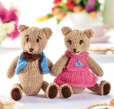 Teddy Bears Picnic Free Knitting Patterns Animals Free