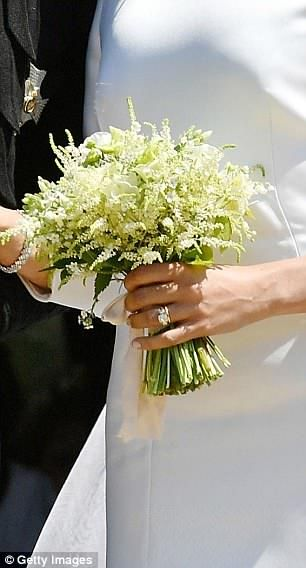 Meghan S Bridal Bouquet Is Placed On The Tomb Of The Unknown